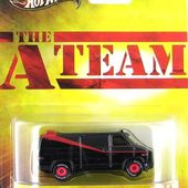 THE A TEAM CUSTOM GMC PANEL VAN BARRACUDA AGENCE TOUS RISQUES HOT WHEELS 1/64 - car-collector.net
