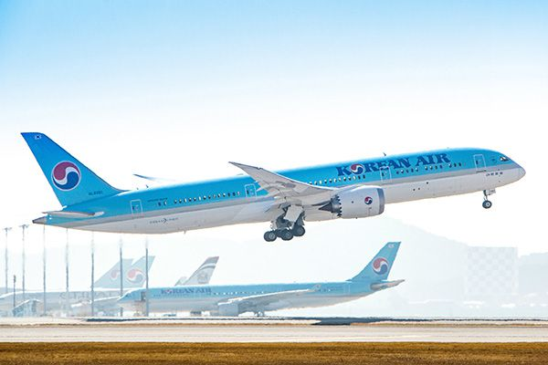 korean air dreamliner boeing 787