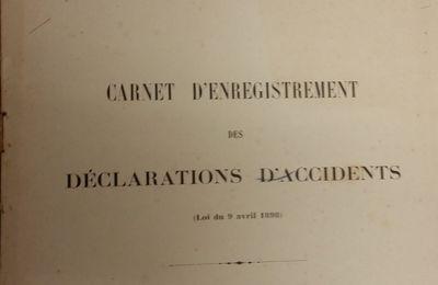 Les accidents du travail à Eysines de 1906 à 1939