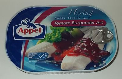 Appel Hering Zarte Filets Tomate Burgunder Art