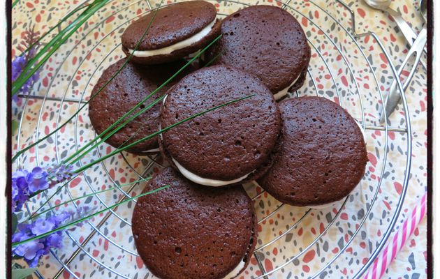 Whoopies aux chamallows