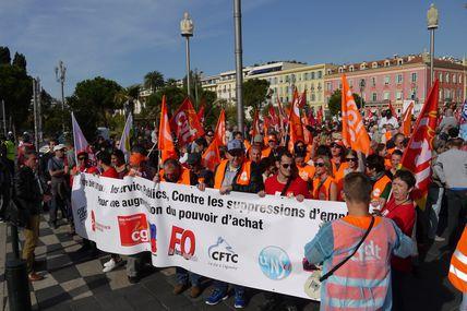 La manif du 10 octobre à Nice en 30 photos