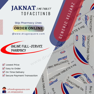 Jaknat 5 mg Price - Buy Natco Tofacitinib Tablets Online From India