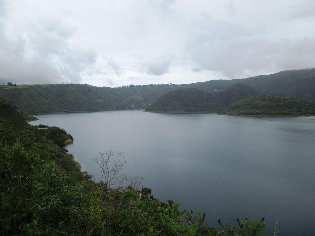 Toutes les photos concerne le parc de Cuicocha