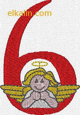 ABC anges, le chiffre 6