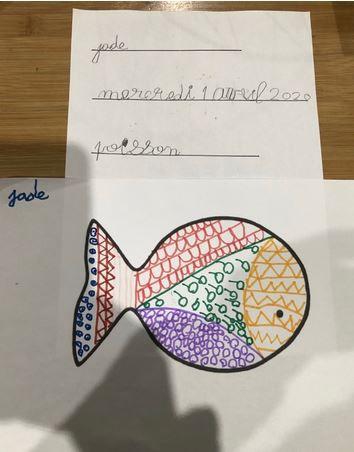 Un banc de poissons chez les maternelles !!!