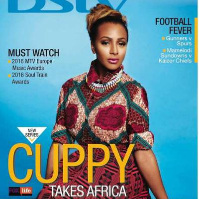 DJ Cuppy Is Charming As She Covers DSTV Compact Magazine