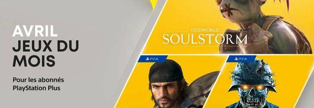 Les jeux PlayStation Plus d'Avril 2021