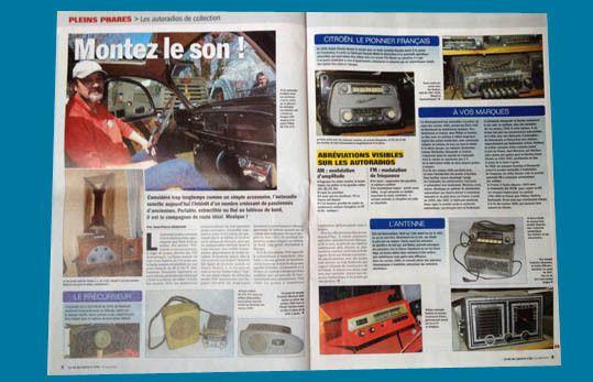 """Autoradio et collection : un excellent dossier à lire dans """"La Vie de l'Auto""""…"""