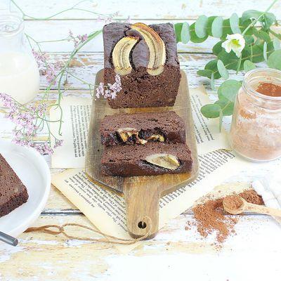 Banana Cake Très Chocolat