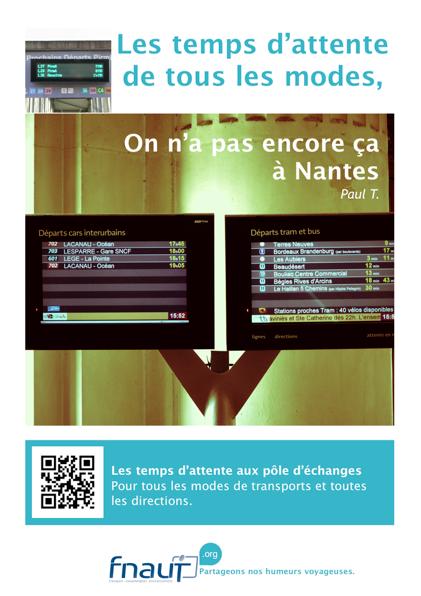 Réalisée par la FNAUT cette campagne de promotion a été lancée début décembre 2012 pour faire écho à celle de la SEMITAN