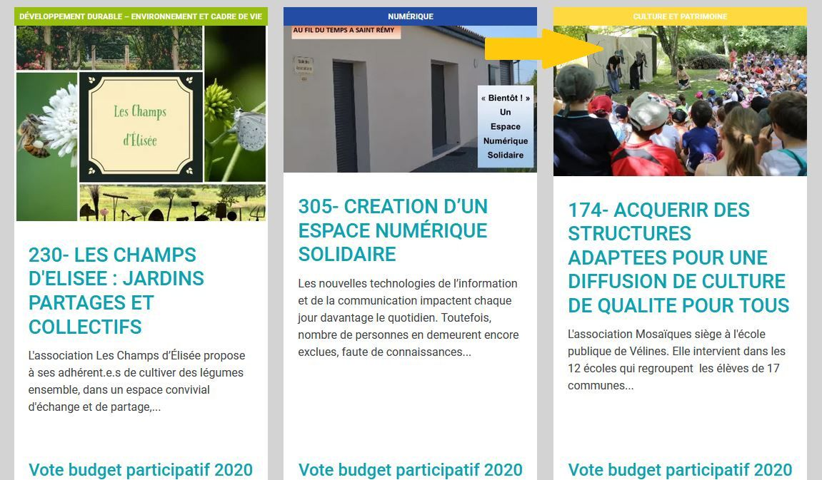 Mosaïques : appel à électeurs pour le projet participatif 2020 du conseil départemental de la Dordogne