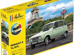 "Citroën Mehari - ""Tube"" HY - Bugatti EB110 - Renault 4L - 2CV ... HELLER"