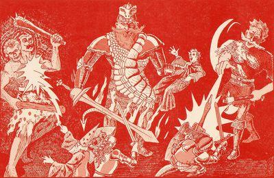 AD&D module G3 : Le château du roi des géants du feu