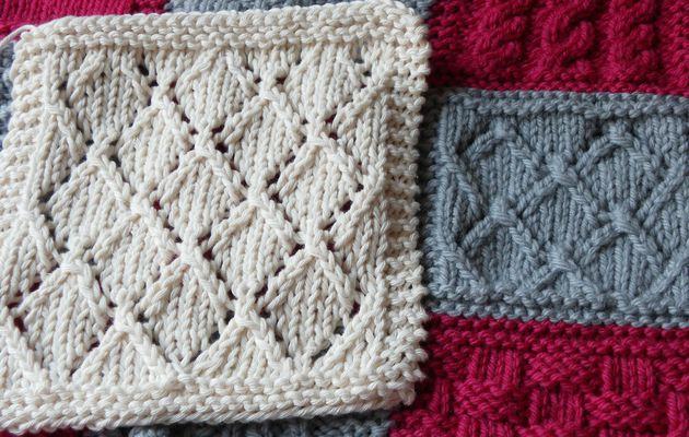 Boucle d'Or Afghan KAL : square 13