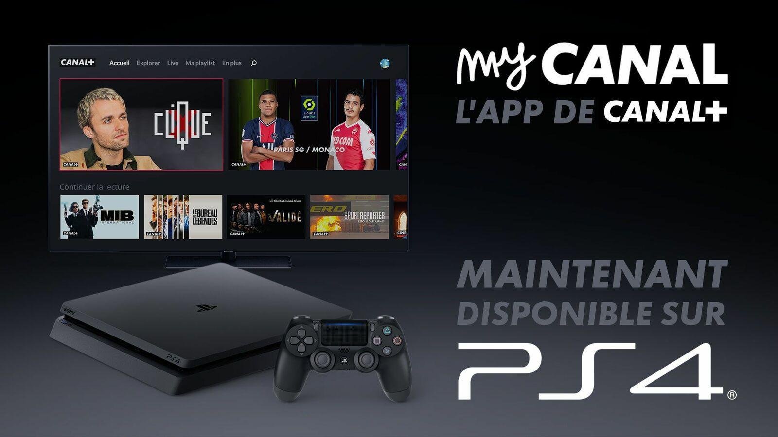 Media : myCANAL est disponible dès maintenant sur PlayStation®4 et PlayStation®5