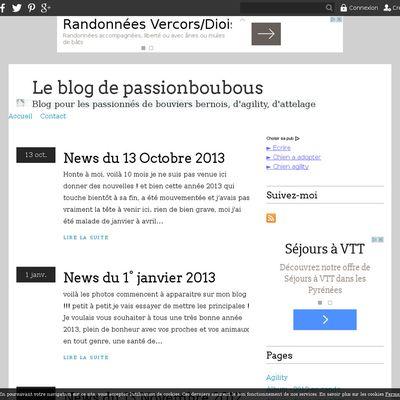 Le blog de passionboubous