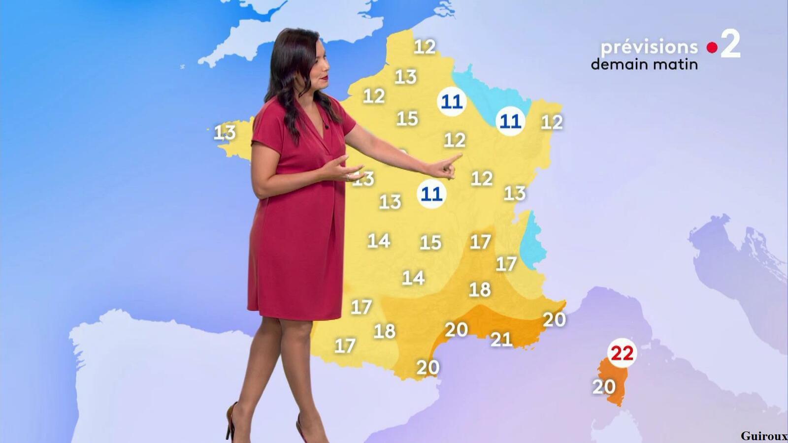 Anaïs Baydemir 29/07/2021 Journaux météo du soir