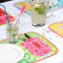 Un set de table: tutoriel couture et patchwork