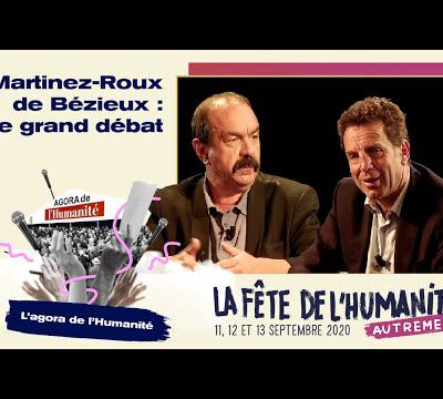 Fête de l'Humanité 2020 - Vidéo - Martinez/Roux de Bézieux : le grand débat