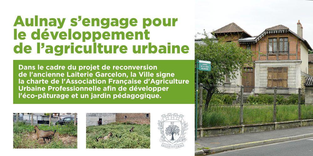 Aulnay-sous-Bois porte-drapeau de l'agriculture urbaine en France !