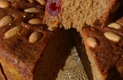 Dundee cake comme en Ecosse