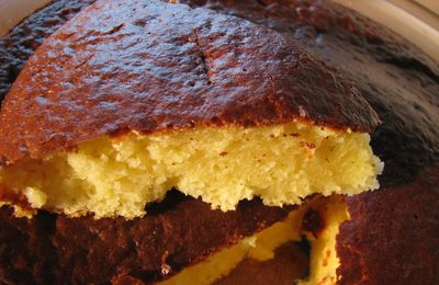 Quatre-quarts cake ingredients and recipe
