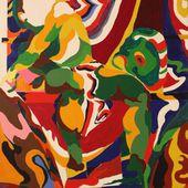 """Expo Peinture Contemporaine: ALAIN JACQUET """"DES IMAGES D'ÉPINAL AUX CAMOUFLAGES(1961-1963)"""" - ACTUART by Eric SIMON"""