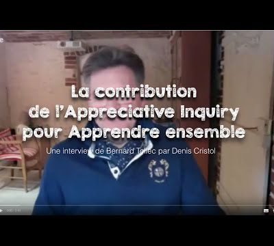 La contribution de l'appreciative inquiry pour apprendre ensemble