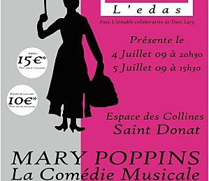 Marry Poppins une comedie musicale à voir