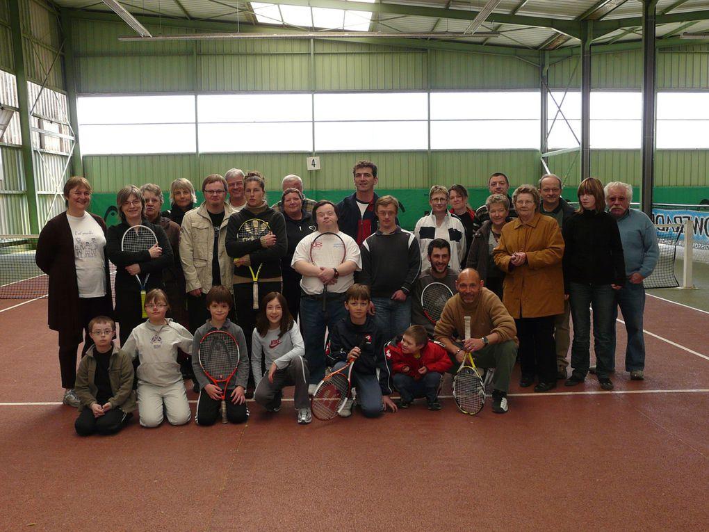 Dimanche 29 mars initiation au tennis  organisé par l'équipe de Stéphane à la Macérienne