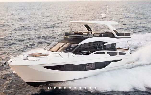 Galeon 640 Fly nominowany jako Powerboat of the Year 2019
