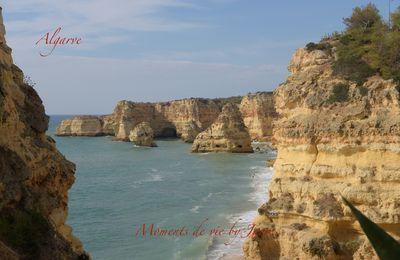 La côte de l'Algarve (Portugal)