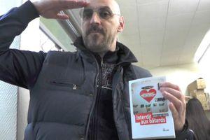 14/02/2014 : sortie d'Interdit aux bâtards au Barber Shop - vidéo