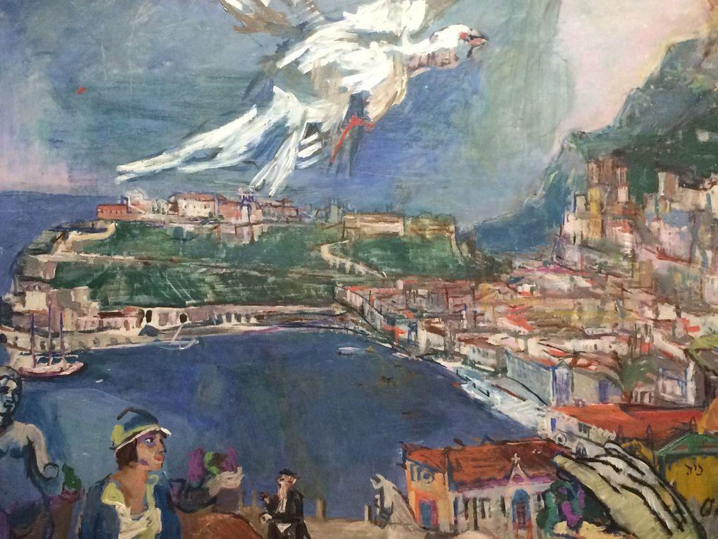 Cézanne Nature morte aux bégonias, Kokoschka Monte Carlo, Léger nature morte et Trois femme s, Renoir Le poirier d'Angleterre
