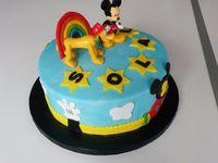 Gâteau Maison de Mickey