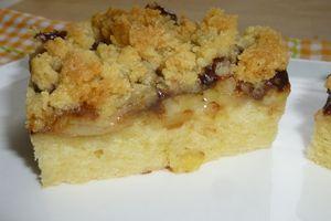 crumb-cake à la banane et nutella