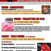 100ème Anniversaire de la Révolution d'Octobre : CONFÉRENCE-FILM-TABLE RONDE : mardi 7 novembre 2017 dès 18 h. à AUBY (Nord) - Commun COMMUNE [le blog d'El Diablo]