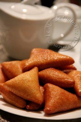 Sfenj (beignets a la semoule)