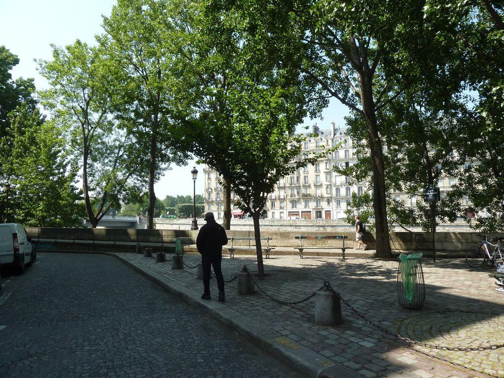 Brocante Paris 13ème, les quais de la Seine, et l'ile Saint-Louis...