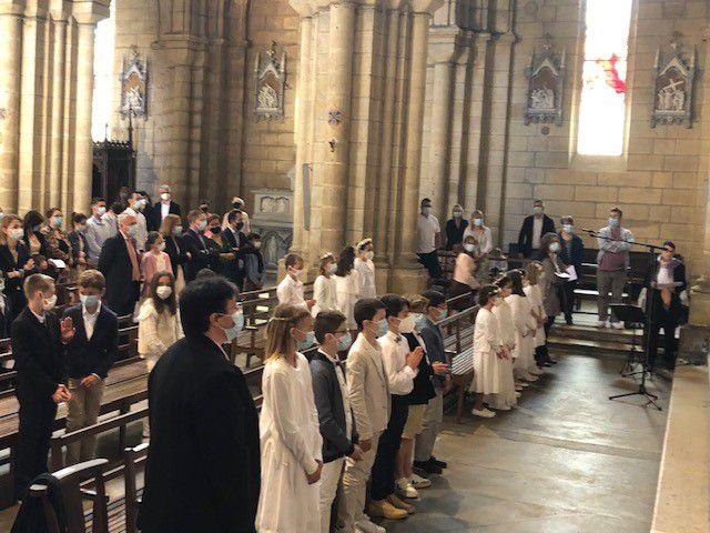 Première communion 2021 !