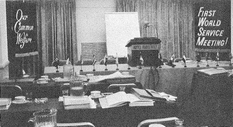 1969 Première Réunion Mondiale des Services