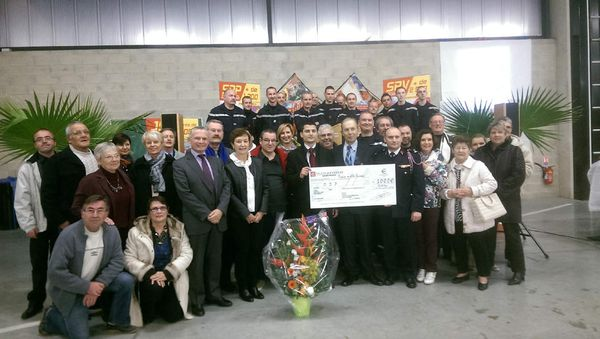REMISE DU CHEQUE A L'ODP 2014