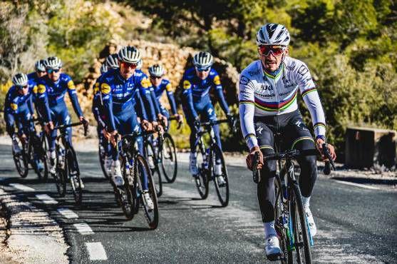 Julian Alaphilippe débute sa saison jeudi, sur le tour de la Provence. © Deceuninck-Quick Step.