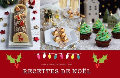 Menu de Noël: idées recettes salées et sucrées