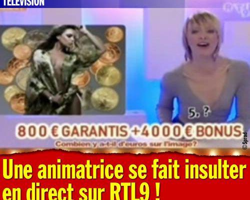 Une animatrice se fait insulter en direct sur RTL9 !