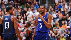 Les États-Unis écrasent la Chine en match amical de préparation pour les Jeux Olympiques