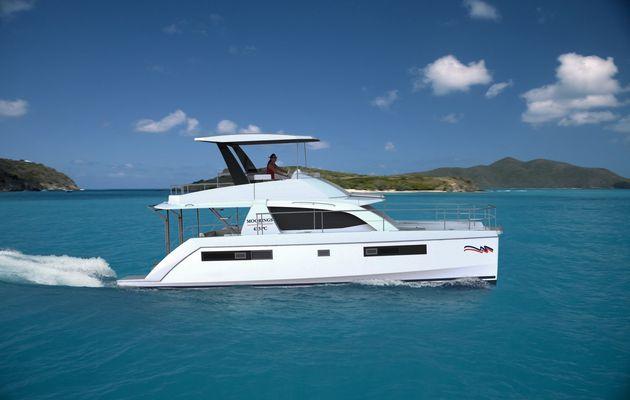SCOOP - 1ers visuels du nouveau catamaran motoryacht Leopard 43 PC