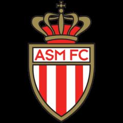 """l'emblème de l'équipe de foot """"AS Monaco"""""""