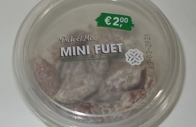 Aldi Pick & Mix Mini Fuet